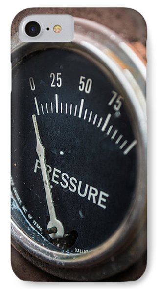 No Pressure IPhone Case by Rhys Arithson