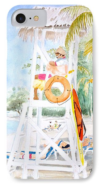 IPhone Case featuring the painting No Problem In Jamaica Mon by Marilyn Zalatan