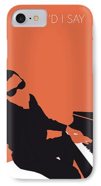 No003 My Ray Charles Minimal Music Poster IPhone Case by Chungkong Art