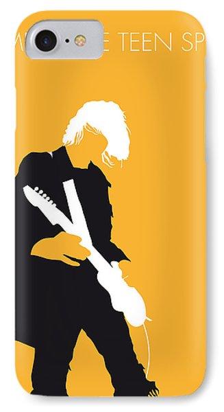 No004 My Nirvana Minimal Music Poster IPhone Case by Chungkong Art