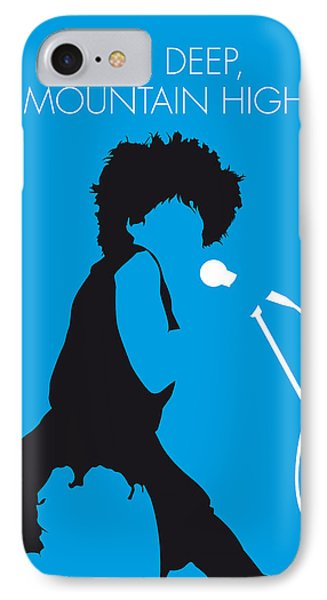 No019 My Tina Turner Minimal Music Poster IPhone Case by Chungkong Art