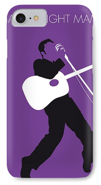 No021 My Elvis Minimal Music Poster IPhone Case by Chungkong Art