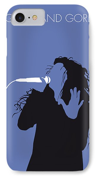 No028 My Lorde Minimal Music Poster IPhone Case