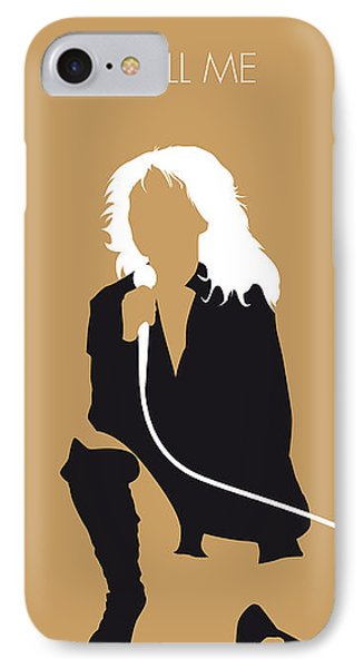 No030 My Blondie Minimal Music Poster IPhone Case by Chungkong Art