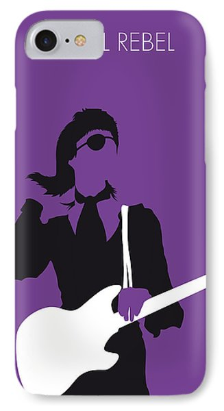 No031 My Bowie Minimal Music Poster IPhone Case