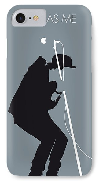 No037 My Tom Waits Minimal Music Poster IPhone Case