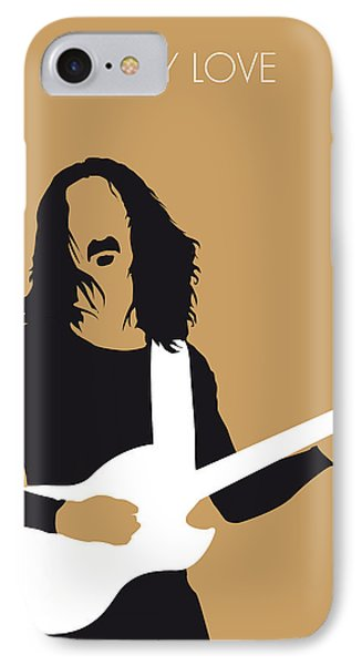 No040 My Frank Zappa Minimal Music Poster IPhone Case