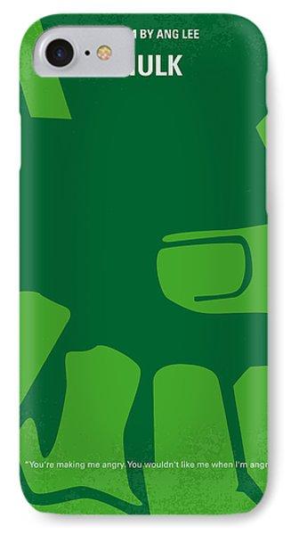 No040 My Hulk Minimal Movie Poster IPhone Case