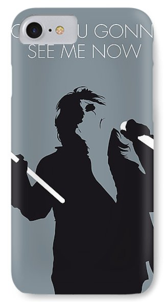 No047 My Alice Cooper Minimal Music Poster IPhone Case by Chungkong Art
