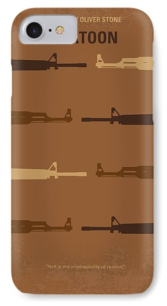 No115 My Platoon Minimal Movie Poster IPhone Case