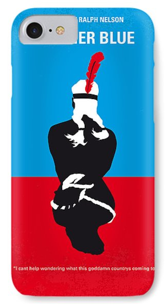 No136 My Soldier Blue Minimal Movie Poster IPhone Case by Chungkong Art