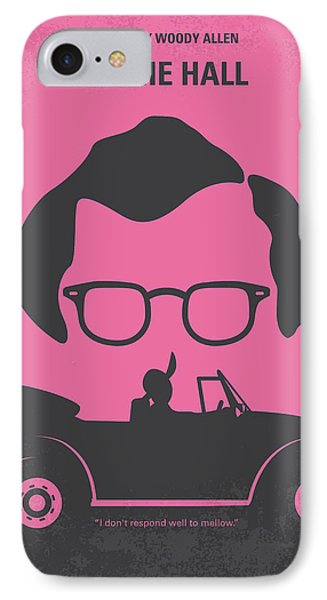 No147 My Annie Hall Minimal Movie Poster IPhone Case
