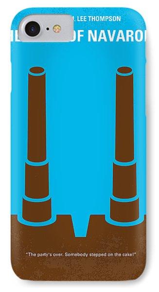 No168 My The Guns Of Navarone Minimal Movie Poster IPhone Case by Chungkong Art