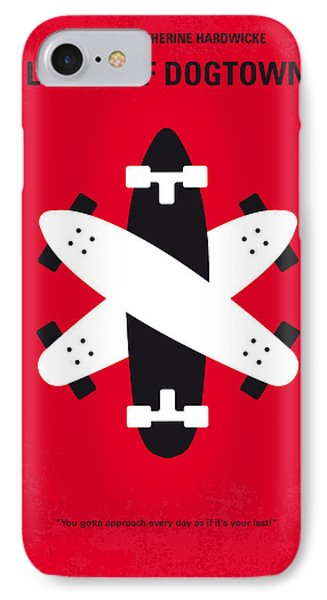 No188 My The Lords Of Dogtown Minimal Movie Poster IPhone 7 Case by Chungkong Art