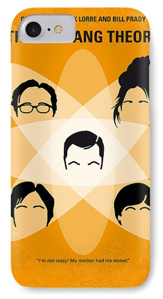 No196 My The Big Bang Theory Minimal Poster IPhone Case by Chungkong Art