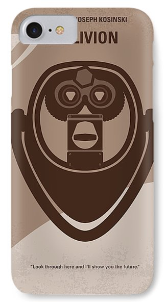 No217 My Oblivion Minimal Movie Poster Phone Case by Chungkong Art