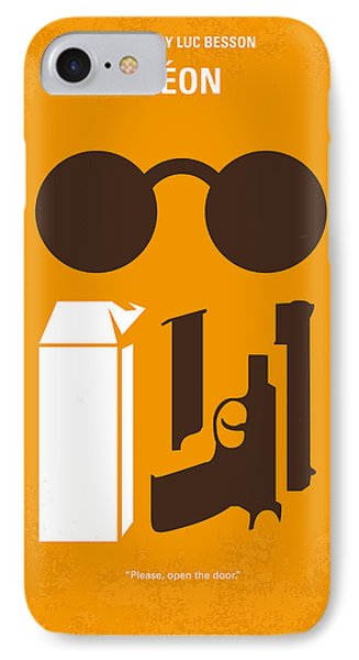 No239 My Leon Minimal Movie Poster IPhone Case