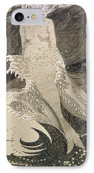 The Mermaid IPhone 7 Case by Sidney Herbert Sime