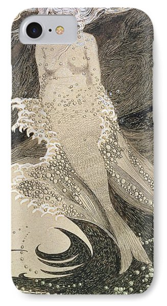 The Mermaid IPhone Case by Sidney Herbert Sime