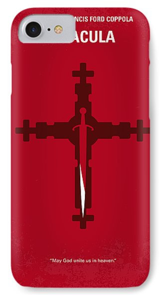 No263 My Dracula Minimal Movie Poster IPhone Case by Chungkong Art