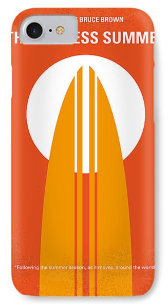 No274 My The Endless Summer Minimal Movie Poster IPhone 7 Case by Chungkong Art