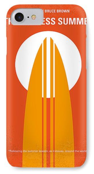 No274 My The Endless Summer Minimal Movie Poster IPhone Case by Chungkong Art