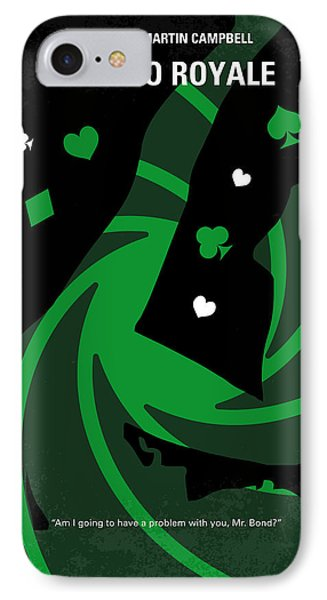 No277-007-2 My Casino Royale Minimal Movie Poster IPhone Case
