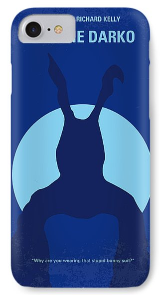 No295 My Donnie Darko Minimal Movie Poster IPhone Case