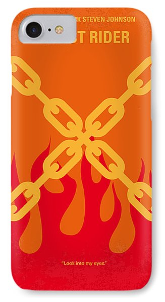 No296 My Ghost Rider Minimal Movie Poster IPhone Case