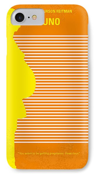 No326 My Juno Minimal Movie Poster IPhone Case by Chungkong Art