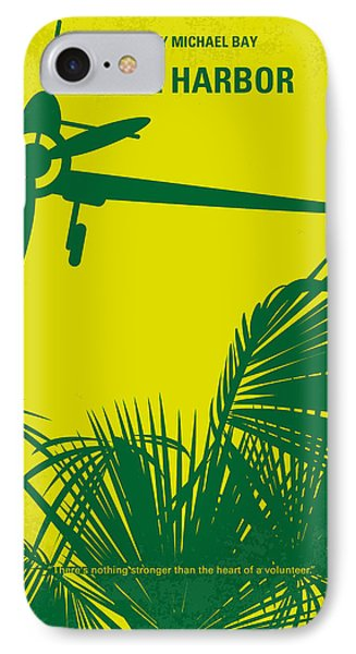No335 My Pearl Harbor Minimal Movie Poster IPhone Case by Chungkong Art