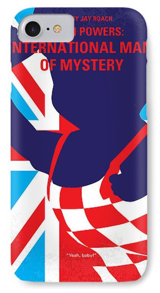 No373 My Austin Powers I Minimal Movie Poster IPhone 7 Case by Chungkong Art