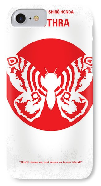 No391 My Mothra Minimal Movie Poster IPhone Case