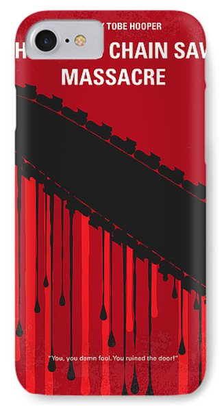 No410 My The Texas Chain Saw Massacre Minimal Movie Poster IPhone Case by Chungkong Art