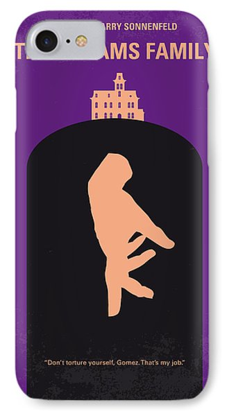 No423 My The Addams Family Minimal Movie Poster IPhone Case