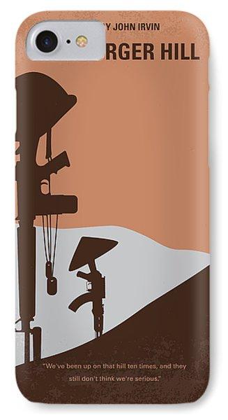 No428 My Hamburger Hill Minimal Movie Poster IPhone Case by Chungkong Art