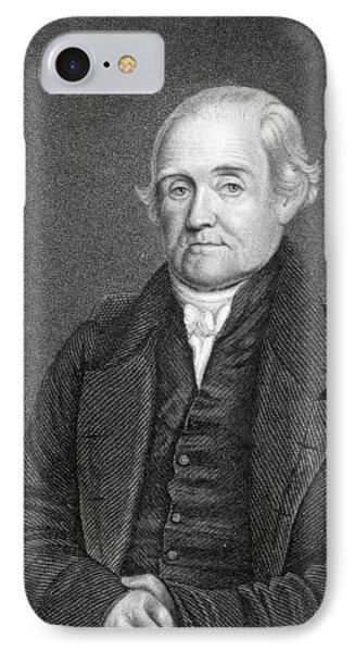 Noah Webster 1758-1843  IPhone Case
