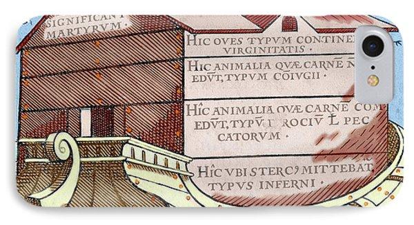 Noah's Ark, From The Book 'de Linguis IPhone Case by Prisma Archivo