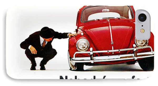 Nobodys Perfect - Volkswagen Beetle Ad IPhone Case