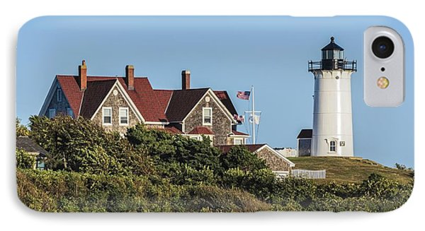 Nobska Lighthouse Woods Hole Cape Cod Ma Phone Case by Marianne Campolongo