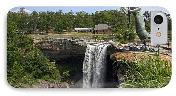 Noccalula Falls In Gadsden IPhone Case by Carol M Highsmith
