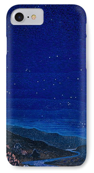 Nocturnal Landscape Phone Case by Francois-Louis Schmied
