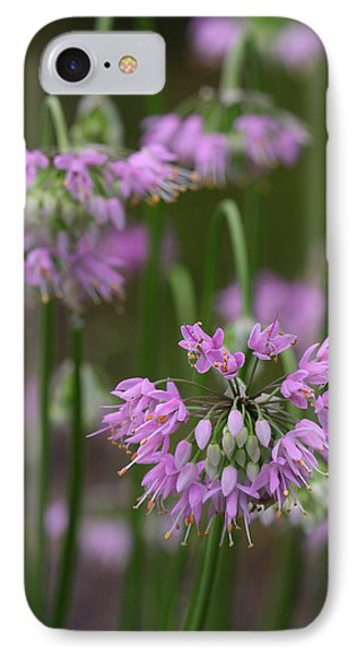 Nodding Wild Onion IPhone Case by Daniel Reed