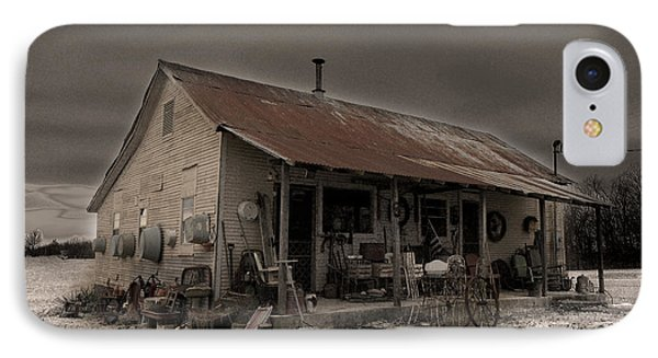 Noland Country Store IPhone Case by William Fields