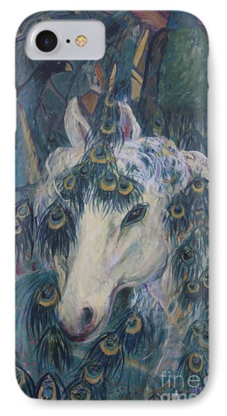 Nola's Unicorn IPhone Case by Avonelle Kelsey
