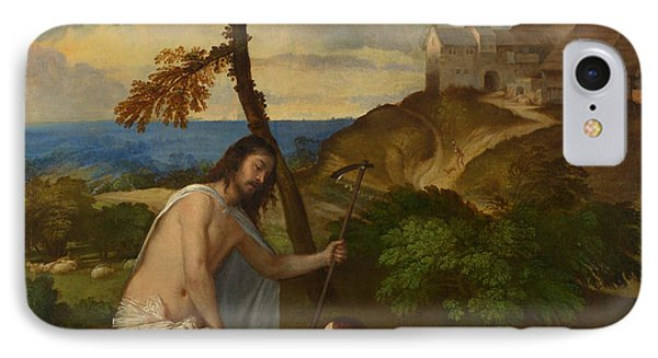 Noli Me Tangere IPhone Case by Titian