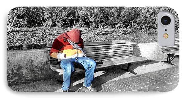 Homeless Man IPhone Case