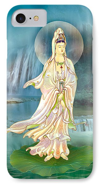 Non-dual Kuan Yin IPhone Case by Lanjee Chee