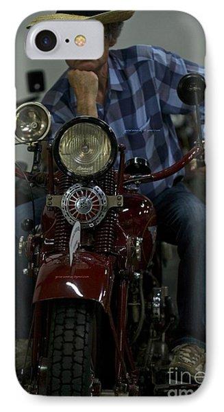 Nonconformist - Easy Rider. Doctor Faustus.  Phone Case by  Andrzej Goszcz