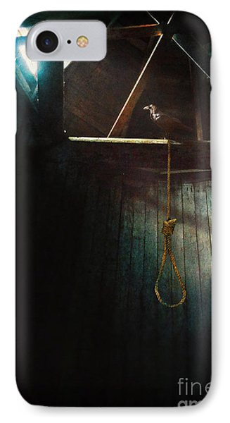 Noose And Raven IPhone Case by Jill Battaglia